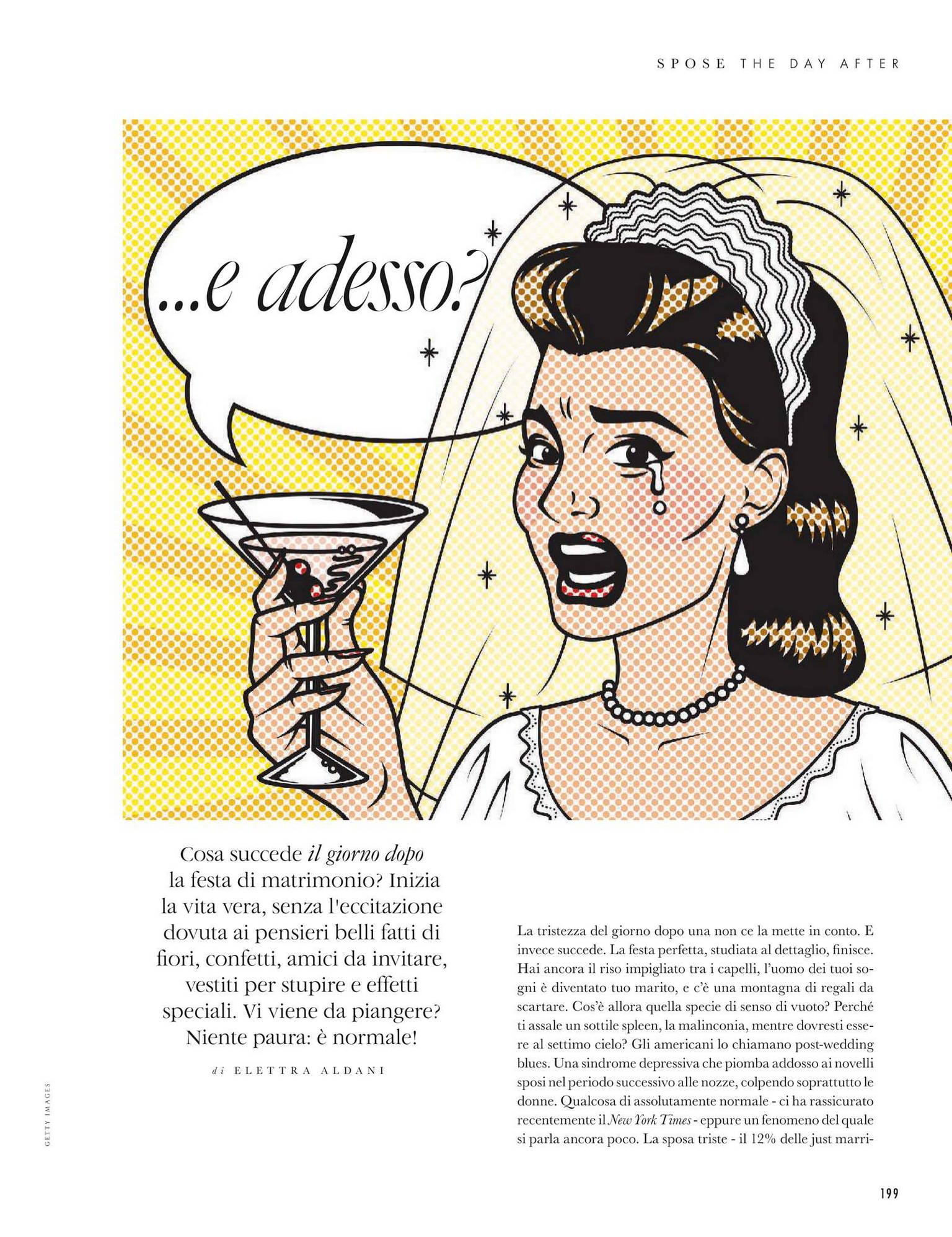 la rivista Elle spose parla di Giovanna Damonte