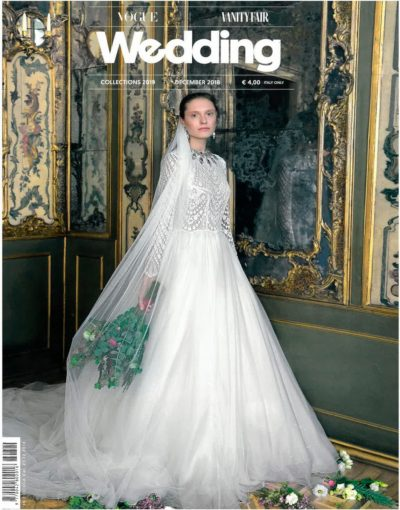 Vogue Vanity fair wedding