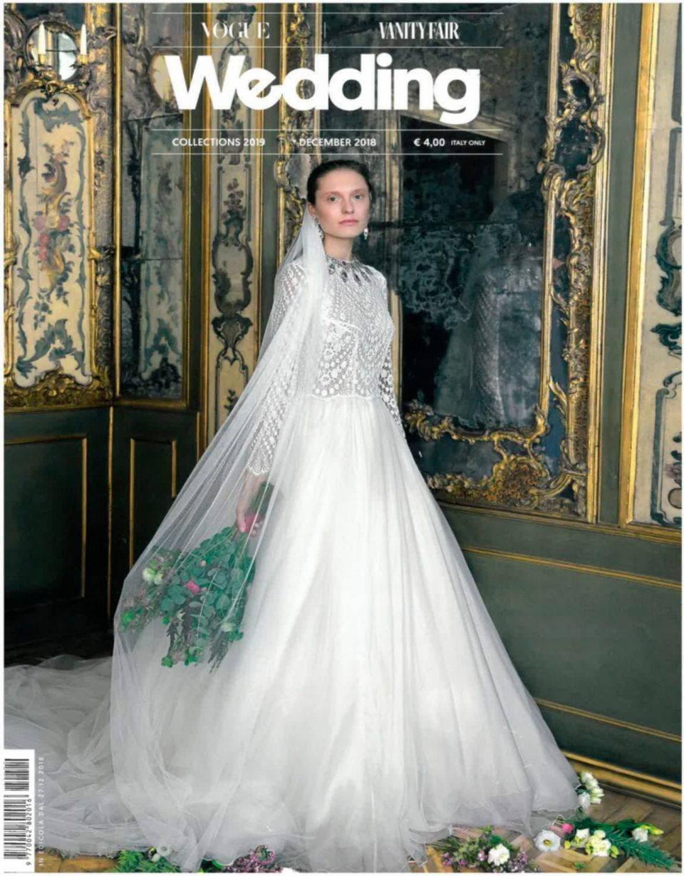 Vogue Vanity fair wedding