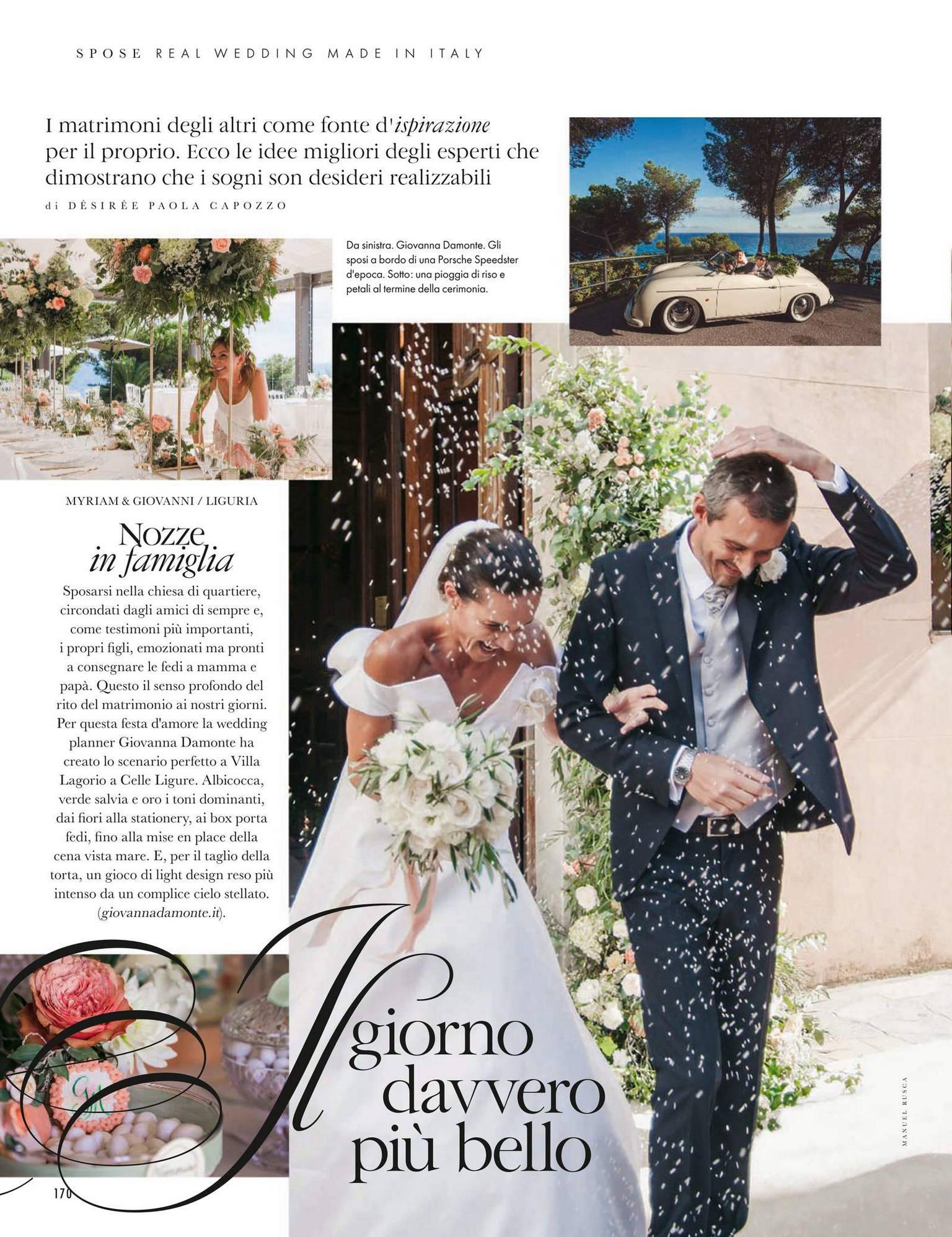 La rivista Elle Spose Altelier che parla di Giovanna Damonte