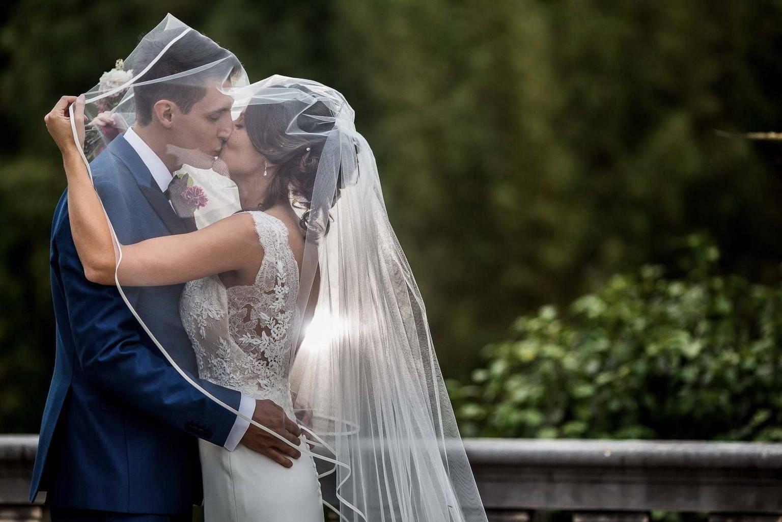 Elisabetta e Giorgio sposi