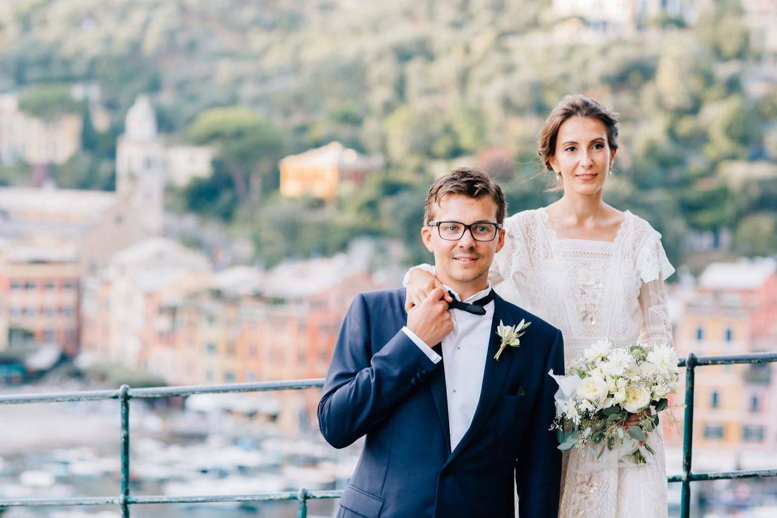 Edouard e Megi sposi