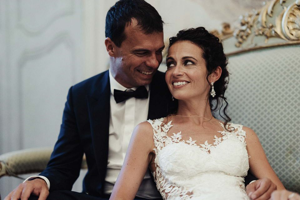 Marta e Fabio sposi