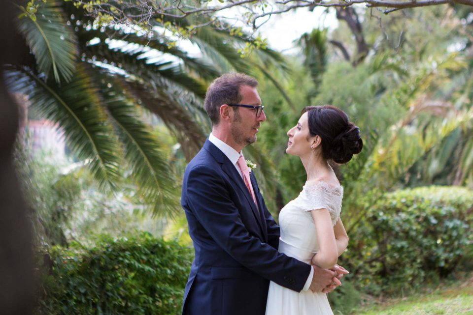 Elvira e Antonio sposi