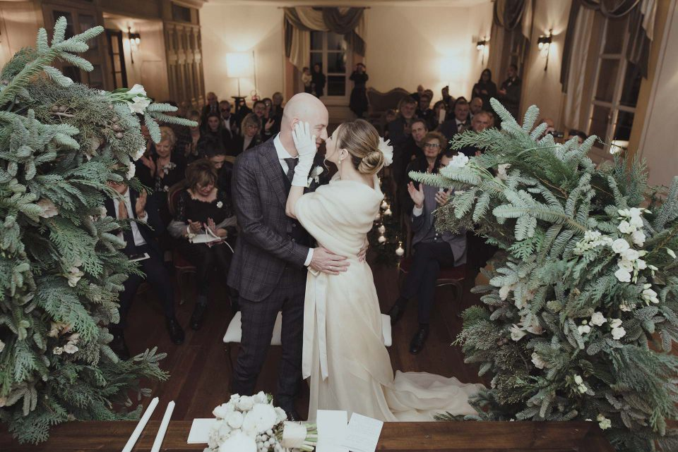 Federica e Maurizio sposi