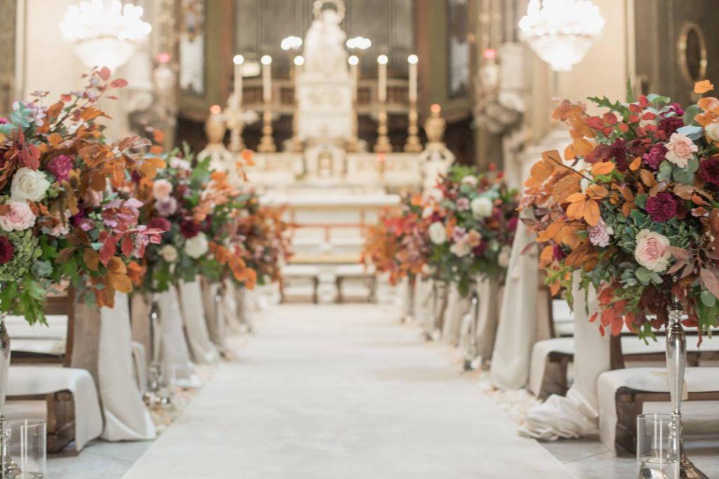 Matrimonio burgundy